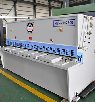 液压摆式剪板机HBS-6x2500